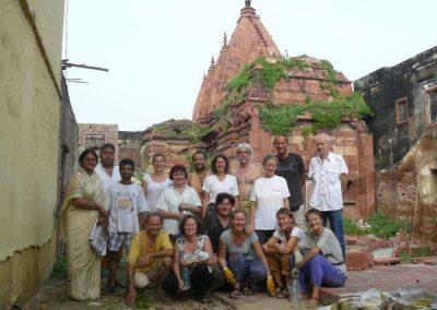Gobinat templom Vrindavan, India